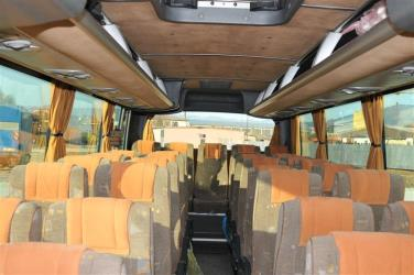 Balkan Express bus seats