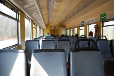 Seating in the electric trains