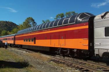Hiawatha dome car