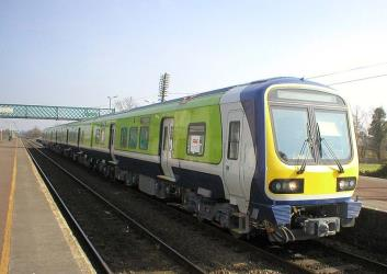 Irish Rail exterior