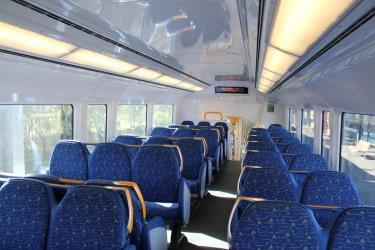 Millenium train interior
