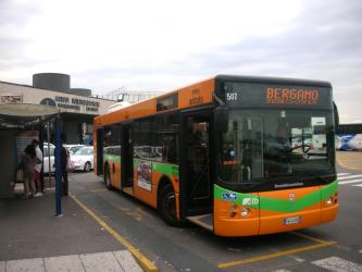 ATB bus at Bergamo Airport