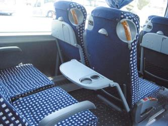 Interior of standard Alsa Bus