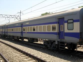 Train at Gorakhpur station