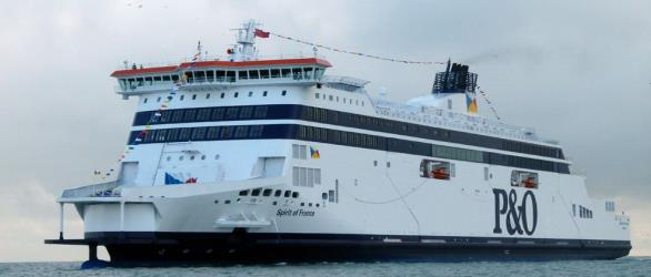 Spirit of France Dover to Calais route