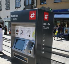 Ruters ticket machine