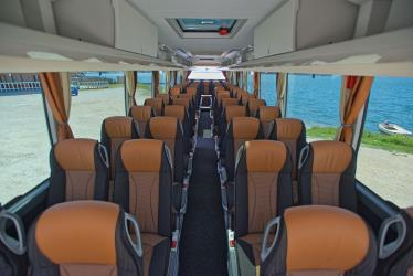 Setra 51 seater bus seating