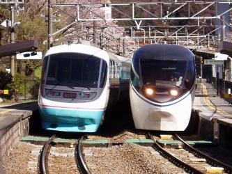 Limited Express trains on Gotemba line