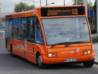 Yorkshire Tiger Bus Exterior