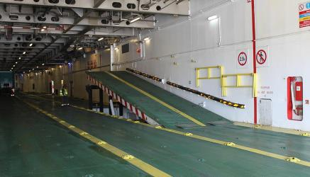 HSC Tanger Express vehicle deck