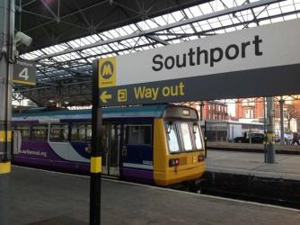 Northern Rail Pacer Train at Southport Station