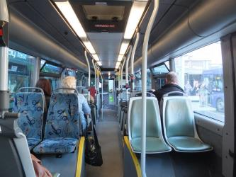 High Peak Buses interior