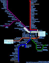 Rail and Bus Network