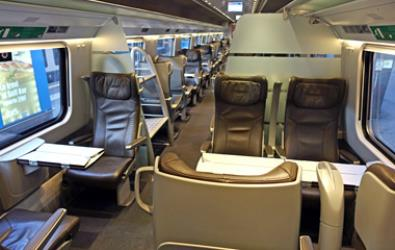 Fist class carriage