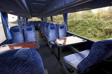 D + E Coaches Interior