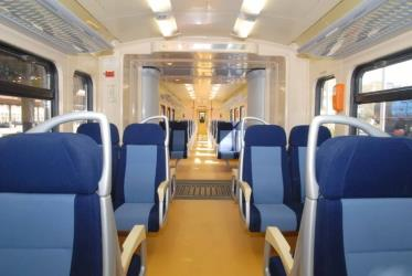 ZS REGIONAL train interior