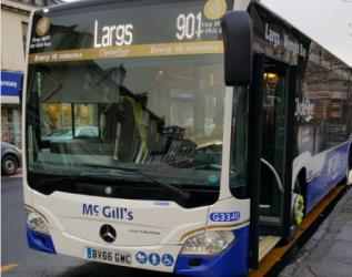 New buses for ClydeFlyer route