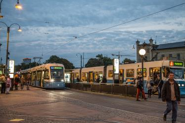 Trams in Gothenburg