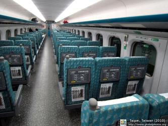 Taiwan High Speed interior