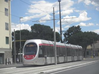 Sirio 1003 tram in Florence