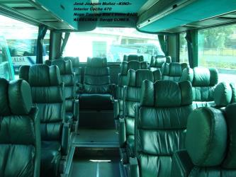 Transportes Comes Bus Interior