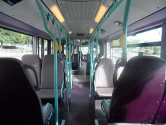 McGill's Mercedes Citaro Interior