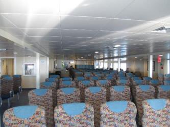 Interior of Hy Line Cruises