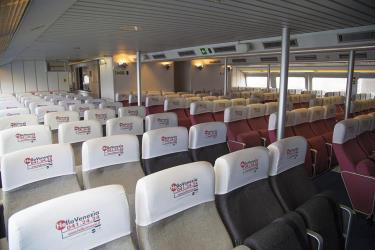 Seating on high speed ferry
