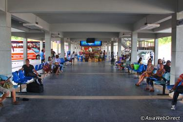 Waiting Area Phuket Bus Terminal 2