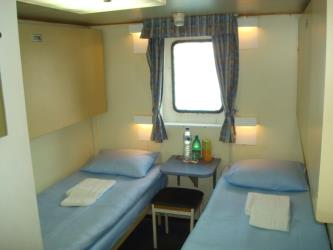 Cabin at the Stena Sealine