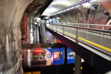 Cardinal Station of Rio Metro