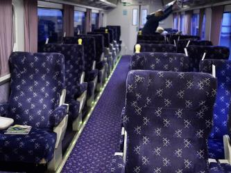 Saloon of a Mark 2 seated coach