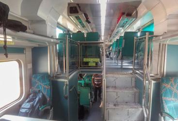 Bangalore Chennai Double Decker Train