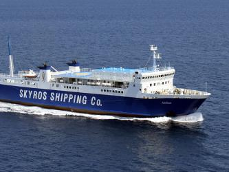 Skyros Shipping Ferry