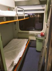 Double sleeper cabin