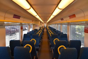 Interior of V/Line Vlocity