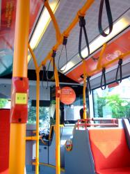 Oxford Bus Company Citaro interior