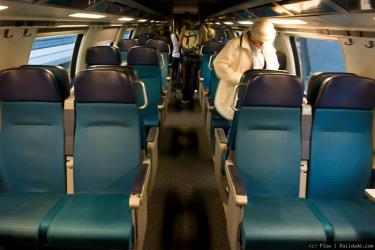 Intercity Train interior