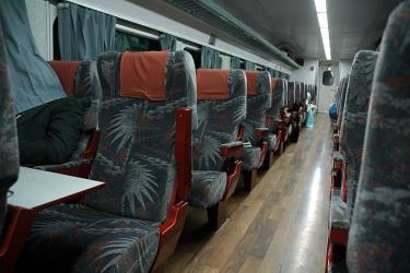 Classic Passenger train interior