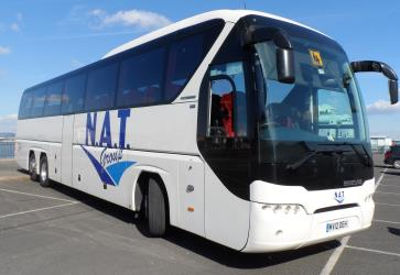 N.A.T. Group Bus Exterior