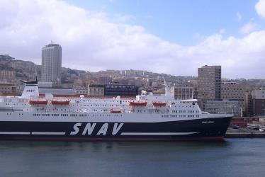 SNAV Sicilia at Naples Port
