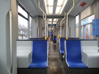 Interior of an S-Class Tram