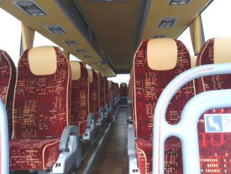 Mid Wales Travel Bus Interior
