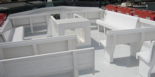 Ferry Sciacchetra deck seating