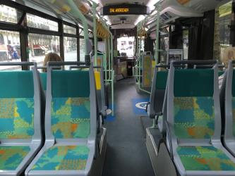 RATP Bus Interior
