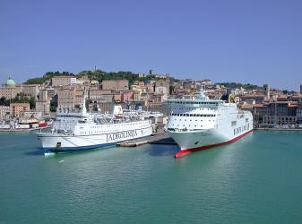 Jadrolinija Ferry at Ancona Port
