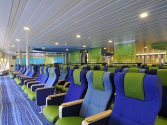 Brittany Ferries Lounge