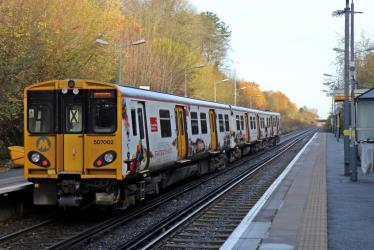 Exterior of Merseyrail Electrics
