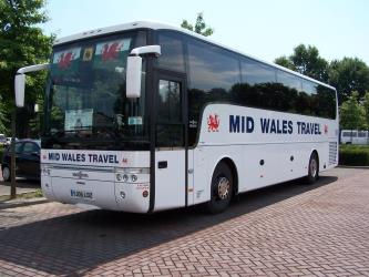 Mid Wales Travel Bus Exterior