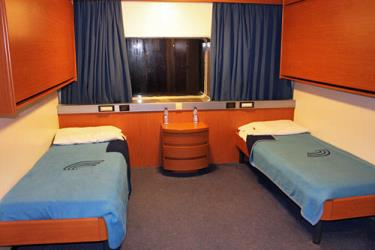 Baja Ferries cabin